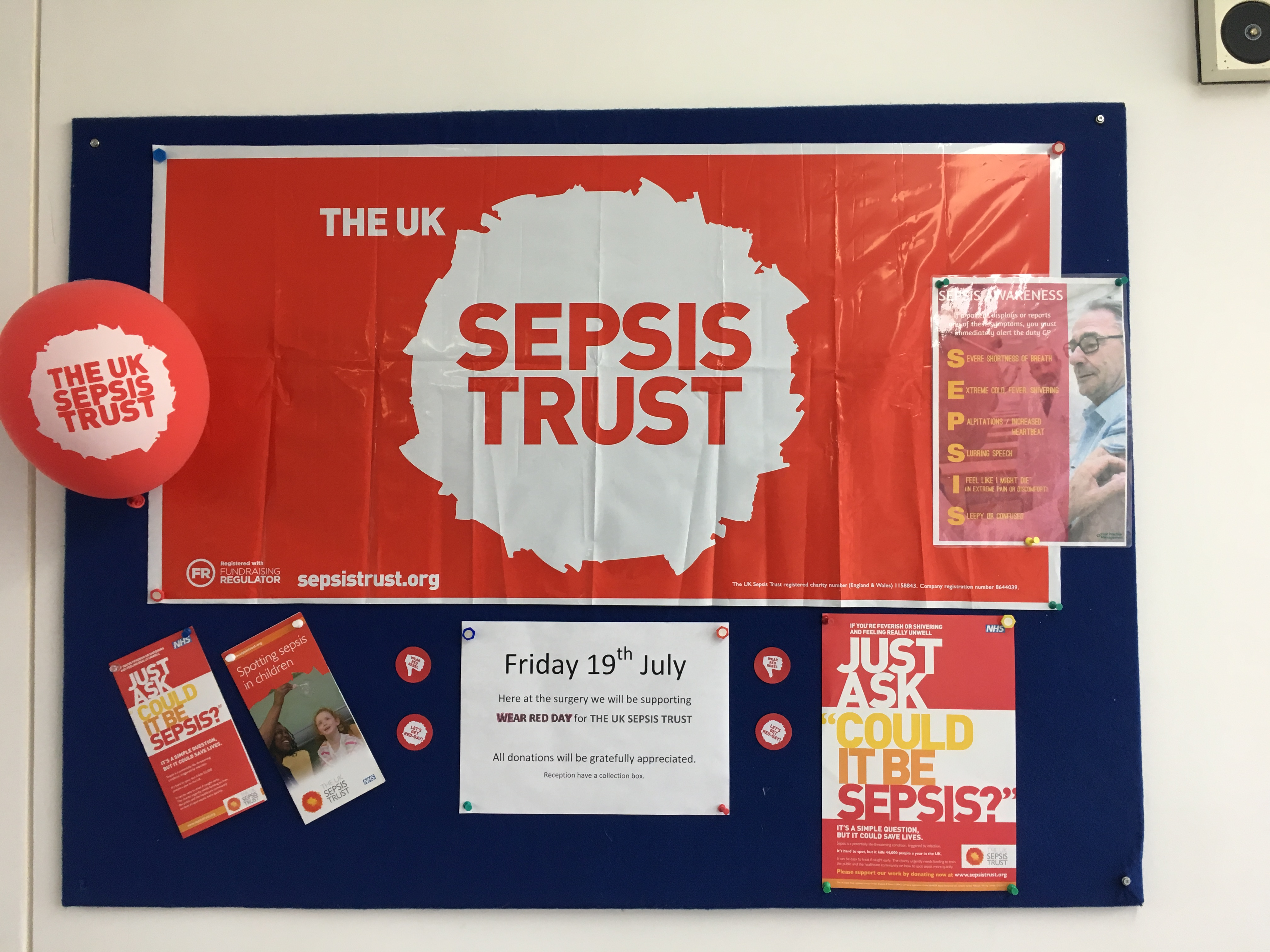 Photo of Sepsis Awareness